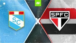 Sporting Cristal x São Paulo: assista à transmissão da Jovem Pan ao vivo