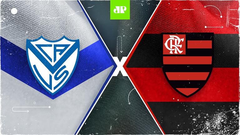 Vélez Sársfield x Flamengo: assista à transmissão da Jovem Pan ao vivo