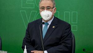 O ministro da Saúde, Marcelo Queiroga, lança a Campanha Nacional de Vacinação contra a Gripe