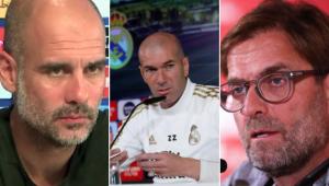 Guardiola, Klopp e Zidane comentaram sobre a criação da Superliga Europeia