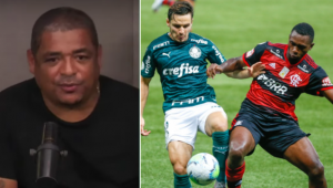 Vampeta falou sobre a expectativa para o duelo entre Flamengo e Palmeiras
