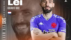 Anúncio do Goleiro Vanderlei no Vasco