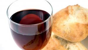 Vinho e pão