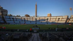 Imagem do Estádio Centenário, em Montevidéu