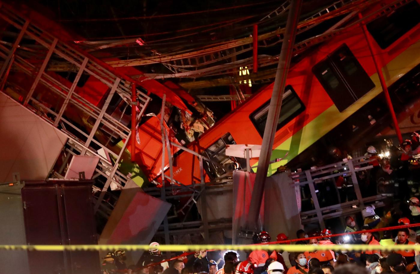 Queda de viaduto mata 23 pessoas e deixa 65 feridos na Cidade do México