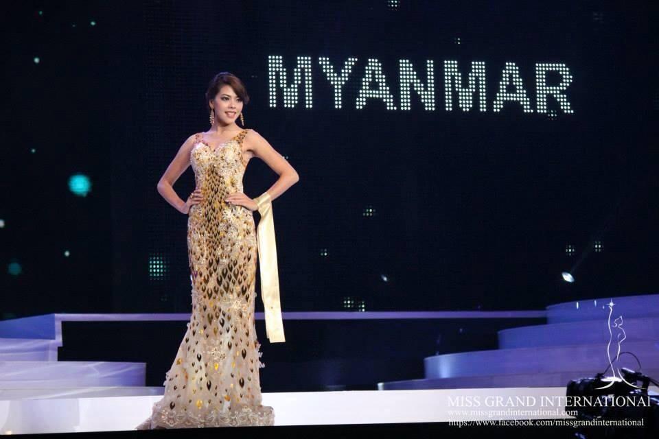 Ex-rainha da beleza Htar Htet Htet se junta à resistência de Myanmar