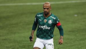 Felipe Melo durante final do Paulistão