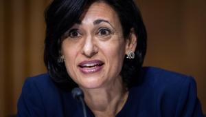 A diretora do CDC, Rochelle Walensky