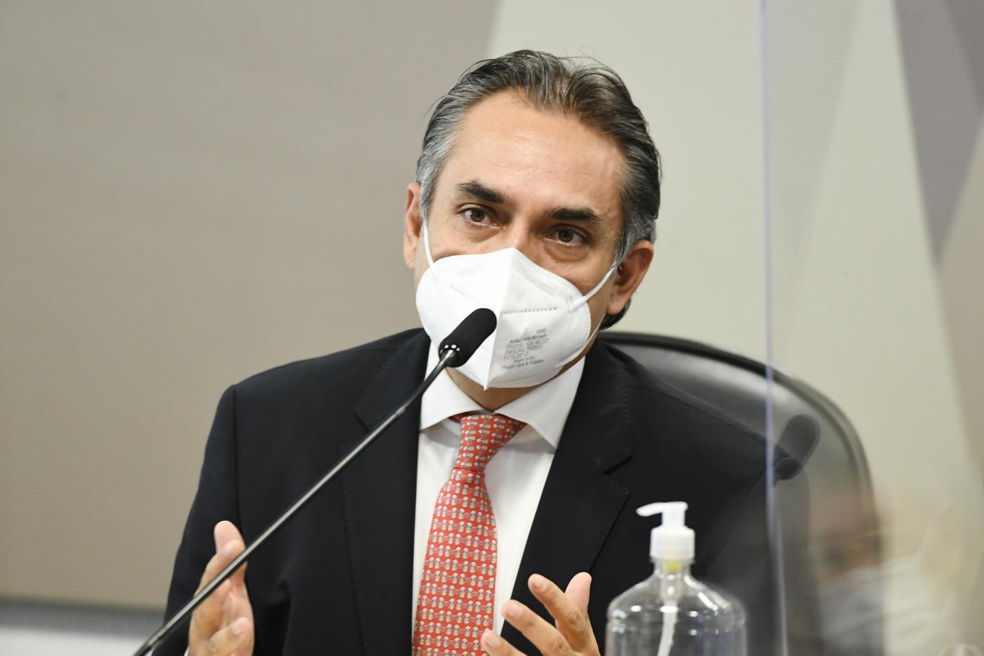 Gerente-geral da Pfizer na América Latina depõe à CPI