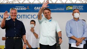 Bolsonaro em cerimônia