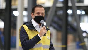 Governador do Estado de São Paulo João Doria participa de coletiva de imprensa sobre anúncio de investimentos do Mercado Livre