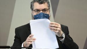 Ernesto Araújo em depoimento À CPI da Covid-19