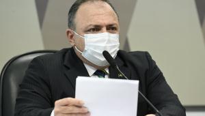 Ex-ministro Eduardo Pazuello fala em CPI