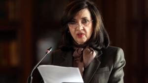 A chanceler da Colombia, Claudia Blum, renunciou ao cargo