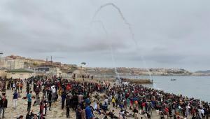 Mais de 6 mil migrantes vindos do Marrocos entram no enclave espanhol de Ceuta