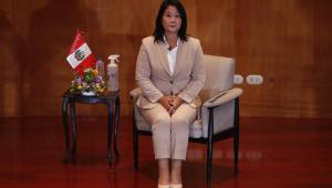Candidata à presidência do Peru, Keiko Fujimori