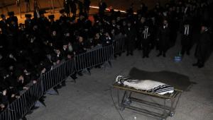Homem morto é velado em Israel
