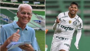 Ademir da Guia parabenizou Rony por marca na Libertadores