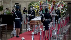Corpo de Bruno Covas é velado na Prefeitura