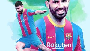 Sergio Auero foi anunciado pelo Barcelona