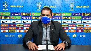 André Jardine é treinador da seleção brasileira olímpica