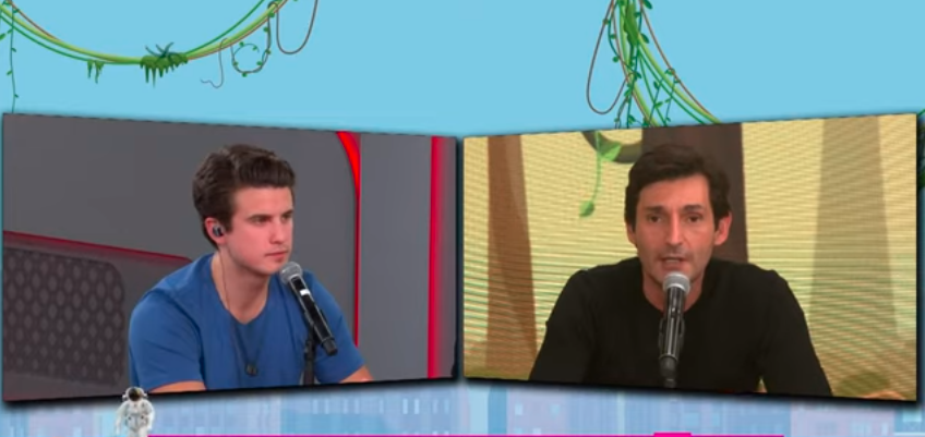 André Marinho e Tomé Abduch discutem ao vivo durante o programa Pânico