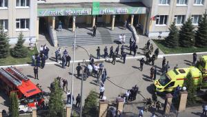 Escola em Kazan, na Rússia, foi palco de um tiroteio