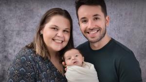 Após mãe ser vacinada, bebê nasce com anticorpos contra a Covid-19 em Santa Catarina