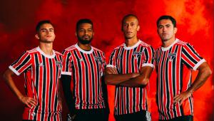 São Paulo lançou o segundo uniforme da temporada