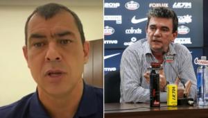 Carille concedeu entrevista à Jovem Pan e rebateu Andres Sanchez