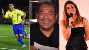 Vampeta foi perguntado se Ronaldo traiu Daniela Cicarelli no programa do Grupo Jovem Pan