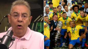 Flavio Prado criticou a realização da Copa América no Brasil