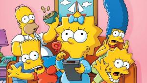 Cena da animação Os Simpsons