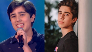 João Pedro Chaseliov no The Voice Kids e atualmente