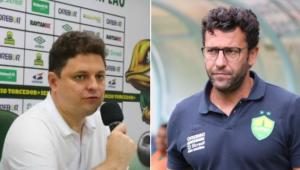 Vice-presidente do Cuiabá falou sobre a demissão de Valentim