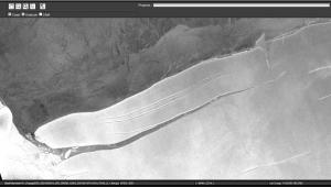 iceberg A-76 se desprendeu da Antártica