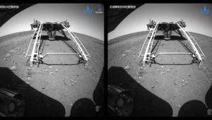 Imagens de satélite do robô enviado pela China a Marte