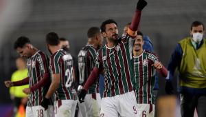 Fred deu duas assistências na vitória do Fluminense sobre o River Plate pela Libertadores