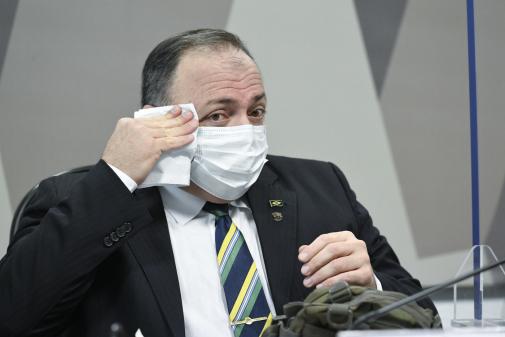 AO VIVO: CPI da Covid-19 retoma depoimento de Pazuello; acompanhe