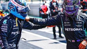 Finlandês superou companheiro de Mercedes e garantiu a pole do GP de Portugal