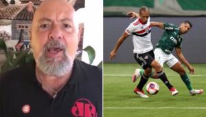 Nilson Cesar deu o seu palpite após o empate entre Palmeiras e São Paulo