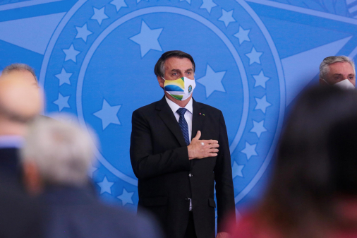 Bolsonaro fala em 'evolução positiva' da pandemia e reafirma compromisso com as reformas