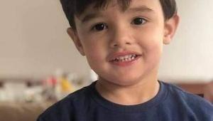 O menino Gael, de 3 anos, morto após espancamento