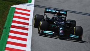 Hamilton foi o mais rápido no treino livre do GP de Barcelona