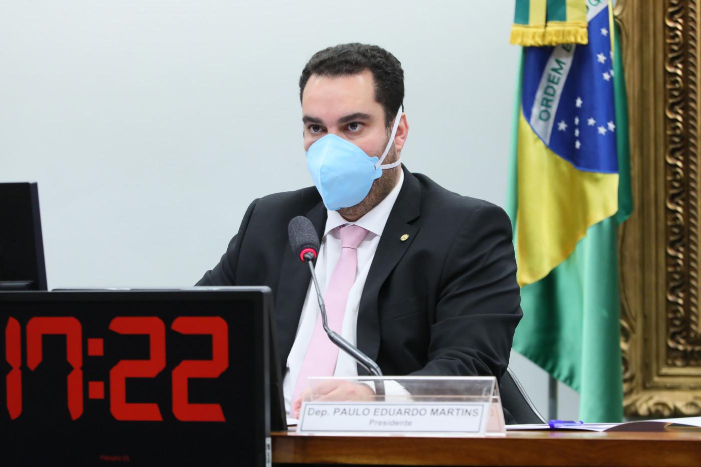 O deputado federal Paulo Eduardo Martins