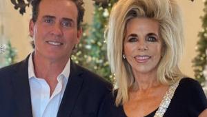 Ator e esposa em postagem no Instagram