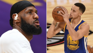 LeBron James exaltou a temporada de Curry pelos Warriors