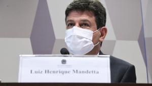 Ex-ministro da Saúde, Luiz Henrique Mandetta