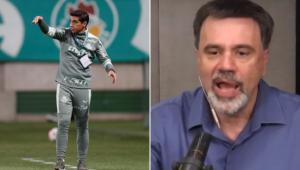 Mauro Beting defendeu Abel Ferreira durante o Esporte em Discussão