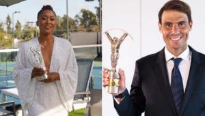 Naomi Osaka e Rafael Nadal ganharam o Prêmio Laureus